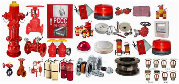 Các thiết bị phòng cháy chữa cháy gồm những gì 1